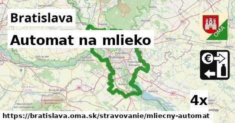 Automat na mlieko, Bratislava