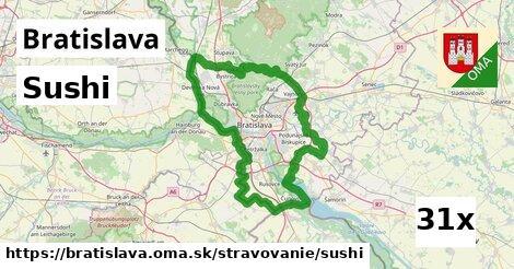 sushi v Bratislava