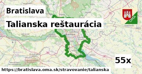 talianska reštaurácia v Bratislava