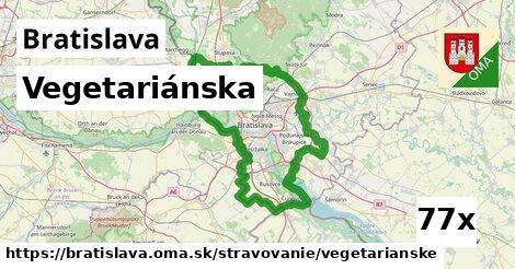 ilustračný obrázok k Vegetariánska, Bratislava