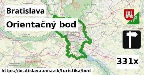 orientačný bod v Bratislava