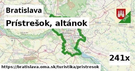 ilustračný obrázok k Prístrešok, altánok, Bratislava