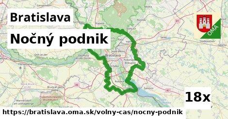 nočný podnik v Bratislava