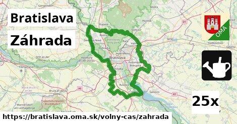 ilustračný obrázok k Záhrada, Bratislava