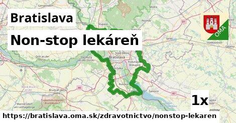 non-stop lekáreň v Bratislava