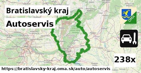 autoservis v Bratislavský kraj