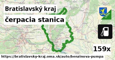 ilustračný obrázok k čerpacia stanica, Bratislavský kraj