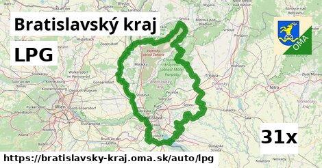 LPG v Bratislavský kraj