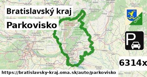 ilustračný obrázok k Parkovisko, Bratislavský kraj