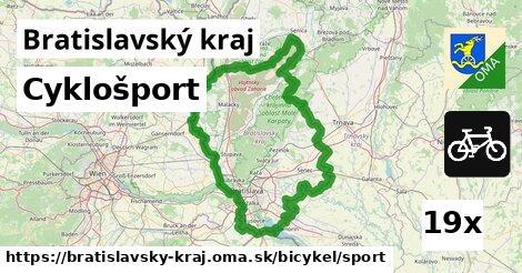 cyklošport v Bratislavský kraj