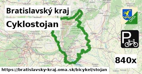 cyklostojan v Bratislavský kraj