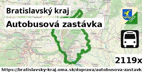 ilustračný obrázok k Autobusová zastávka, Bratislavský kraj