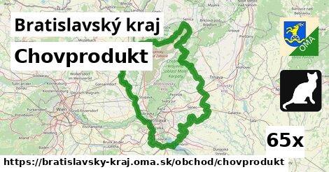 chovprodukt v Bratislavský kraj
