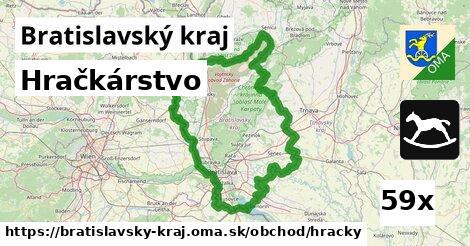 hračkárstvo v Bratislavský kraj