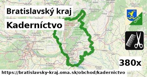 kaderníctvo v Bratislavský kraj