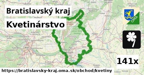 kvetinárstvo v Bratislavský kraj