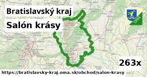 salón krásy v Bratislavský kraj