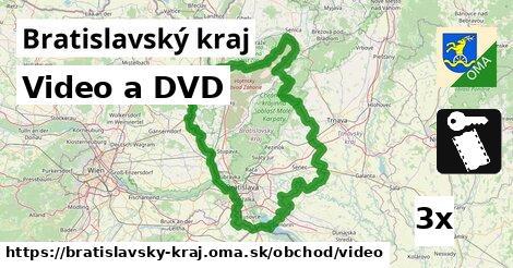 video a DVD v Bratislavský kraj