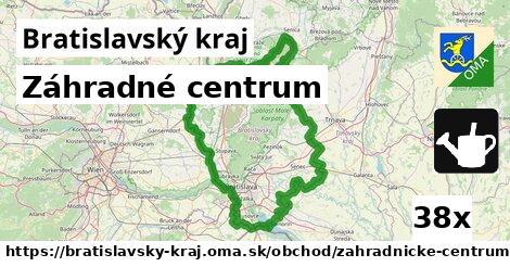 záhradné centrum v Bratislavský kraj