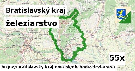železiarstvo v Bratislavský kraj