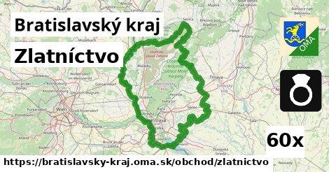 zlatníctvo v Bratislavský kraj