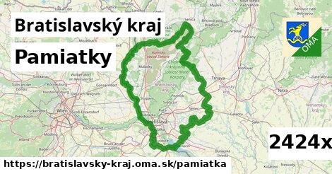 pamiatky v Bratislavský kraj