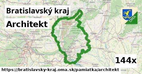 ilustračný obrázok k Architekt, Bratislavský kraj