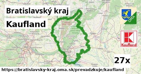 Kaufland v Bratislavský kraj