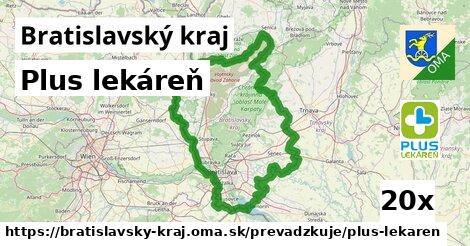 Plus lekáreň v Bratislavský kraj