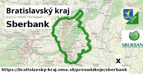 Sberbank v Bratislavský kraj