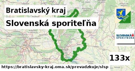 Slovenská sporiteľňa v Bratislavský kraj
