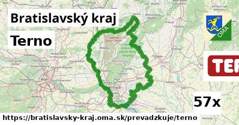 Terno v Bratislavský kraj