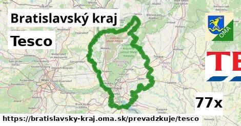 Tesco v Bratislavský kraj