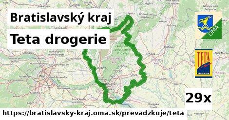 Teta drogerie v Bratislavský kraj