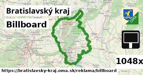 billboard v Bratislavský kraj