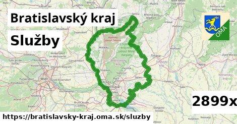 služby v Bratislavský kraj