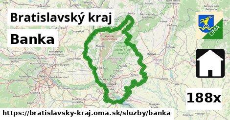 banka v Bratislavský kraj