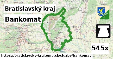 ilustračný obrázok k Bankomat, Bratislavský kraj