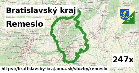 remeslo v Bratislavský kraj