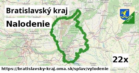 ilustračný obrázok k Nalodenie, Bratislavský kraj