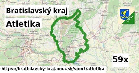 ilustračný obrázok k Atletika, Bratislavský kraj