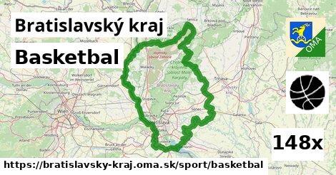 ilustračný obrázok k Basketbal, Bratislavský kraj