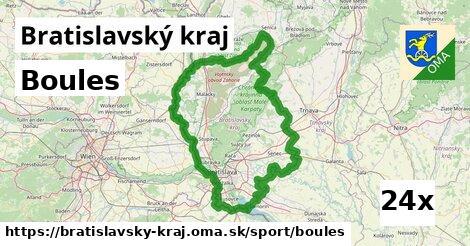 boules v Bratislavský kraj