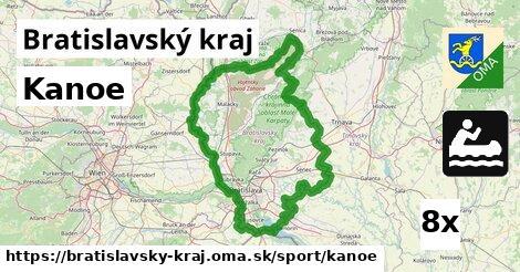 kanoe v Bratislavský kraj