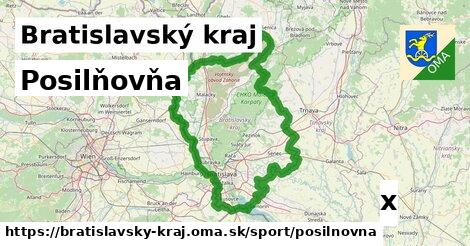 posilňovňa v Bratislavský kraj