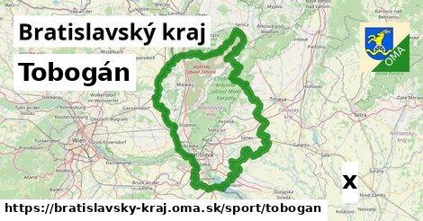 tobogán v Bratislavský kraj