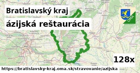 ázijská reštaurácia v Bratislavský kraj