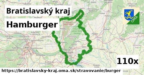hamburger v Bratislavský kraj