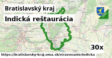 indická reštaurácia v Bratislavský kraj