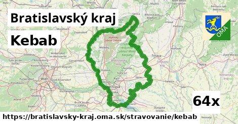 kebab v Bratislavský kraj
